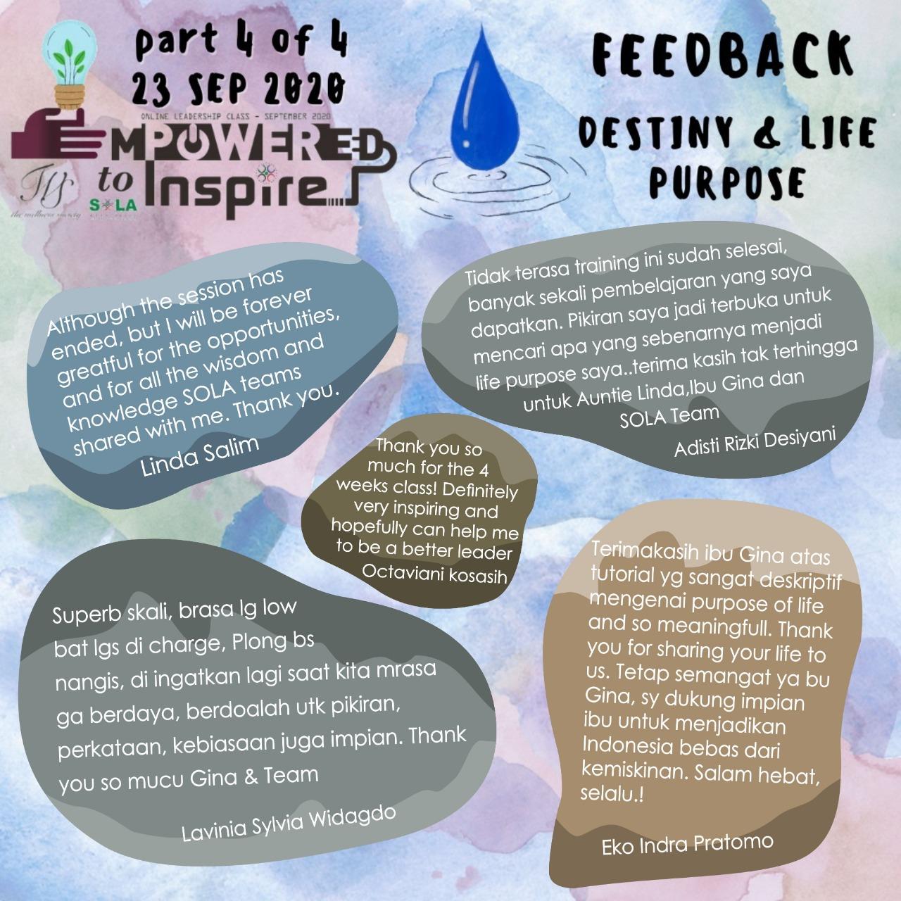 Destiny & Life Purpose 05